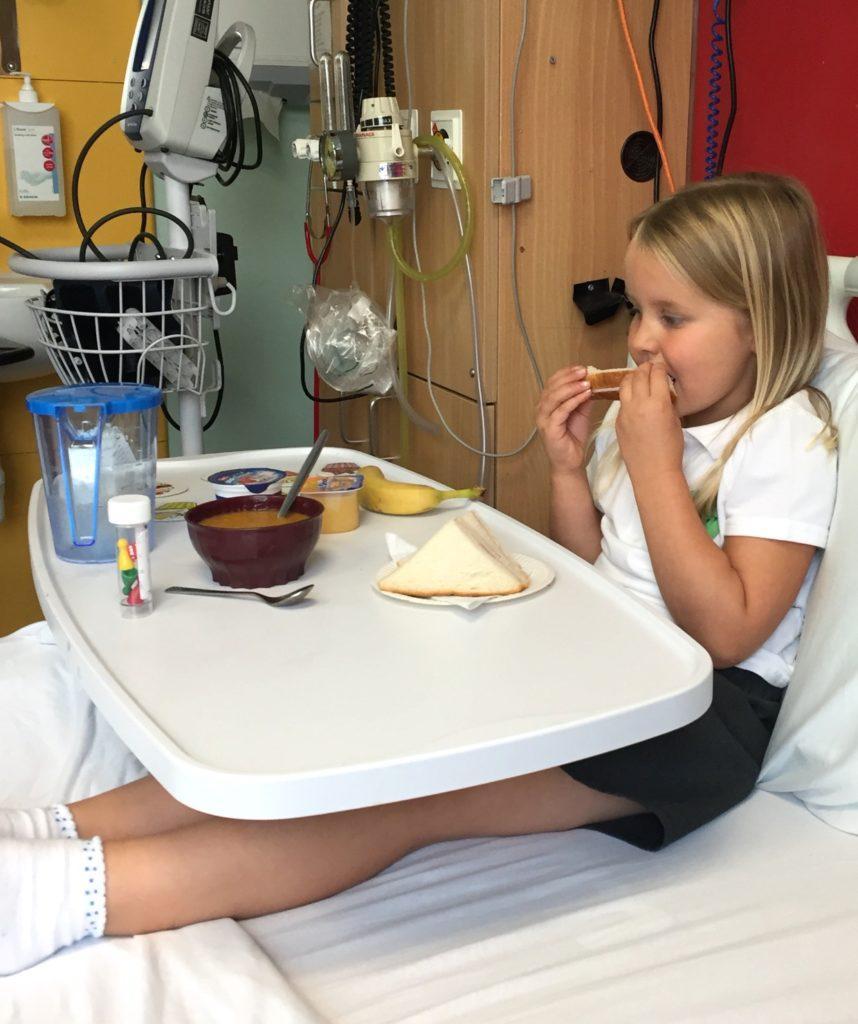 Ruby in hospital