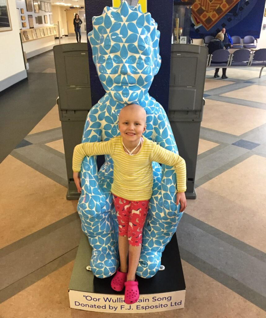 Ruby with Oor Wullie