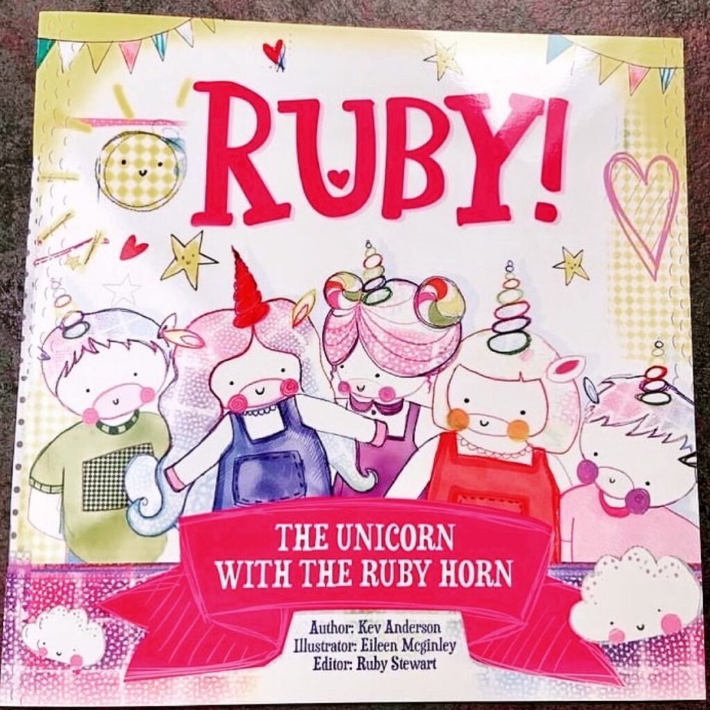 The Unicorn With The Ruby Horn book