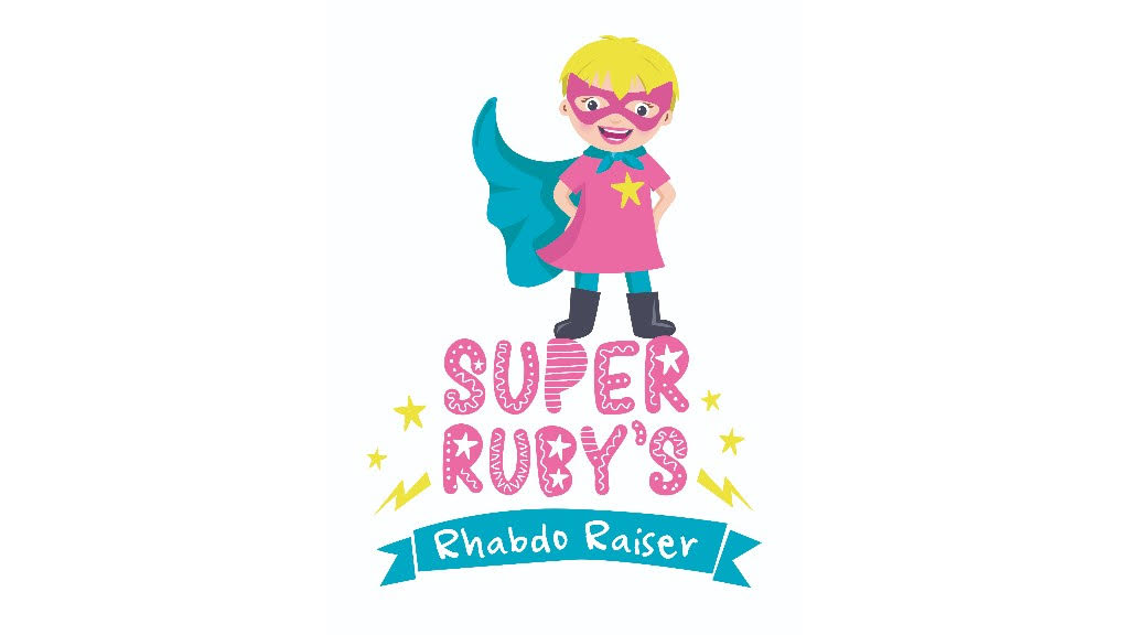 Super Ruby's Rhabdo Raiser logo